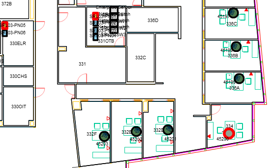 View Telecom Connections In The Floor Plan